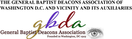 DMV General Baptist Deacons Association